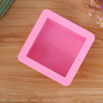 1-Cavity Large 500g Square Silicone Soap Mold