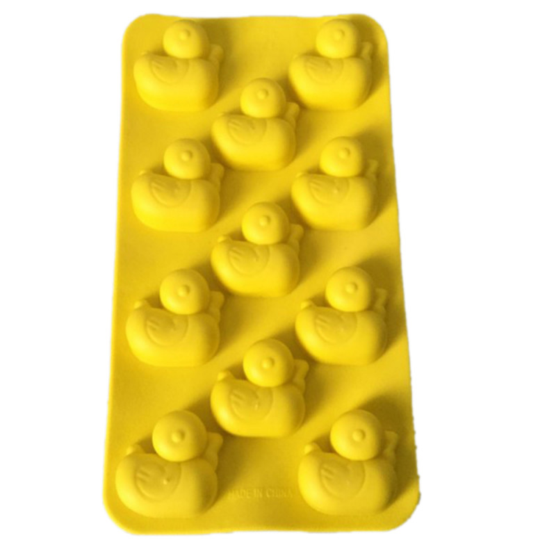 11-Cavity Yellow Ducks Silicone Mould