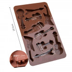 10-Cavity Guitars Silicone Mould