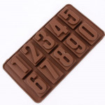 10-Cavity Large Numbers Silicone Mould