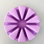 10-Cavity Triangle Pizza Cheese Slice Silicone Mould