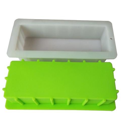 Large 1-Cavity 1400ml Rectangular Silicone Soap Mold