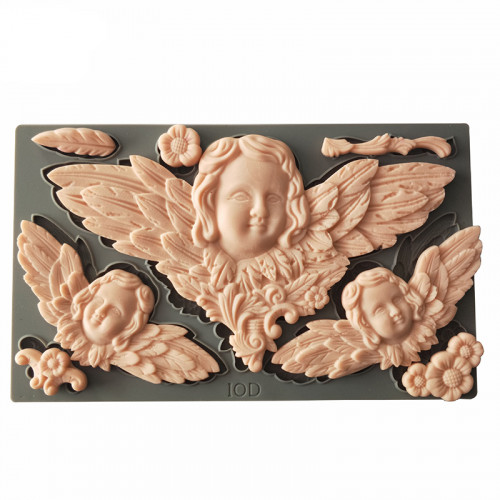 8-Cavity Angel and More Silicone Fondant Mould
