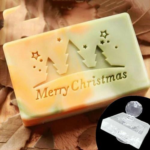 Christmas Acrylic DIY Handmade Soap Stamp - Style5