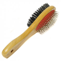 Professional Double Sided Pet Grooming Brush S/L
