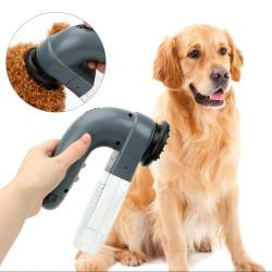Electric Vacuum Round Comb for Pet Fur Hair