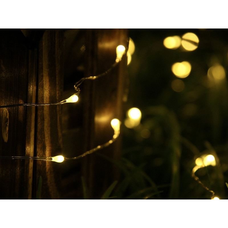 2M 20 LED Fairy Light - Waterproof Copper String Battery Operated
