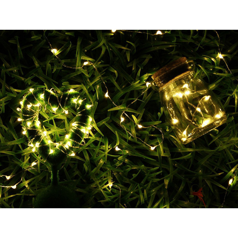 Indoor String Lights Nz : 2M 20 LED Fairy Light - Waterproof Copper String Battery Operated