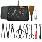 10PCS Bonsai Tool Kit with Case
