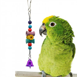 Parrot Toy Birds wood _ Cage 20g