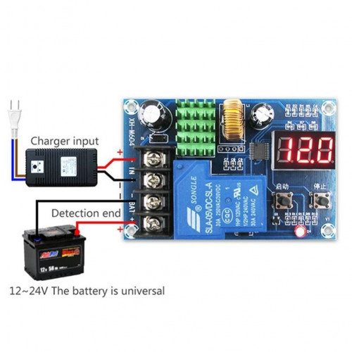 Battery Charging Controller Protection Board 6-60V