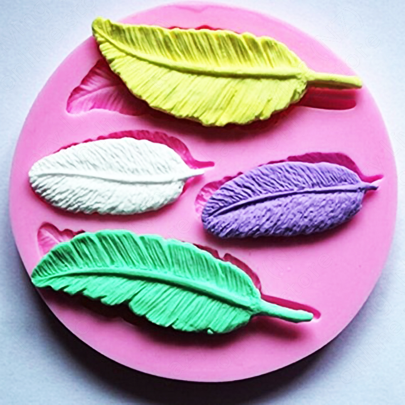 Silicone Mould Feather