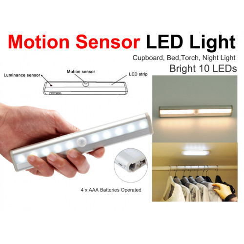 Automatic LED Cupboard or Emergency Night Light