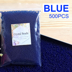 500 x Orbeez Balls Crystal Water Beads - blue