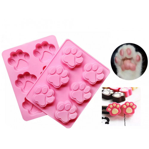 Cat Paw Silicone Ice Tray / Chocolate Mold