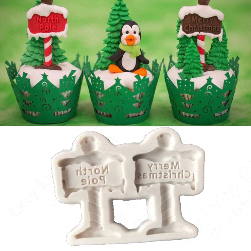 Merry Christmas Sign Silicone Mould