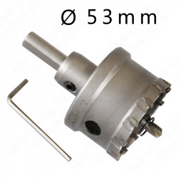 53mm Tungsten Carbide Tipped Hole Saw 4 Steel TCT, aluminum / metal / steel etc