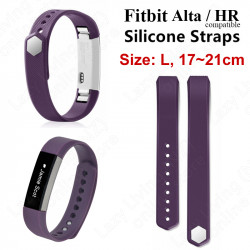 Fitbit Alta / HR Silicone Watch Band Compatible (large) - purple