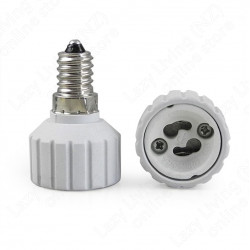 E14 to GU10 LED Light Lamp Bulbs Adapter Converter