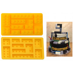 10 Multi-Size Bricks Silicone Mould - For Lego Lovers