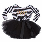 Baby Girl 1st Birthday Tulle Dress with Sleeves