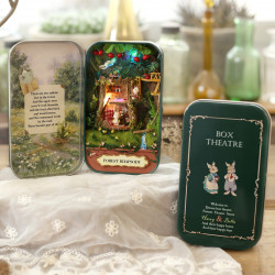 Forest Rhapsody BOX THEATRE DIY Dollhouse Miniature With LED
