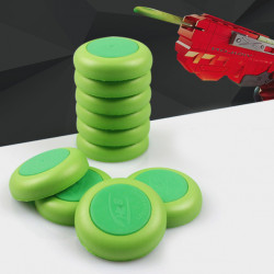 20Pcs Safety Foam Refill Bullets Compatible with Nerf Vortex Disc Blaster