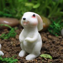 4.6cm Standing Rabbit Miniature Home Decor