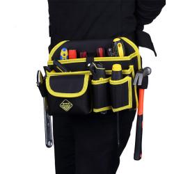Electrician Tools Bag Waist Pouch Belt Multi-functional Storage Holder Organizer
