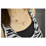 Heartbeat Pendant Silver Necklace (Silver / Gold)
