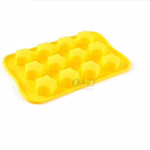 12-Cavity Star Silicone Mould for Chocolate Ice Making Mold