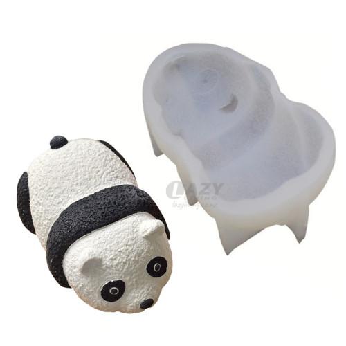 3D Panda Mousse Cake DIY Silicone Fondant Chocolate Mould