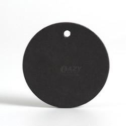 100pcs Black Round Kraft Paper Card Tags Craft Tag Cards 4cm